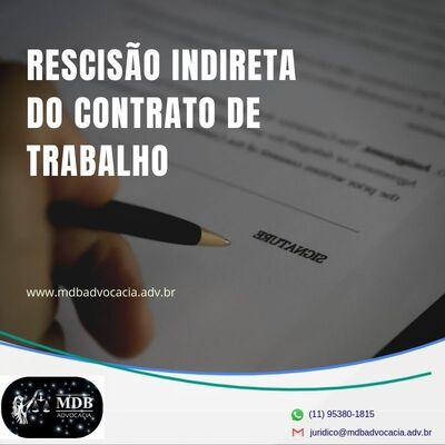RESCISÃO INDIRETA DO CONTRATO DE TRABALHO 16
